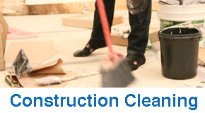 construction cleaning london